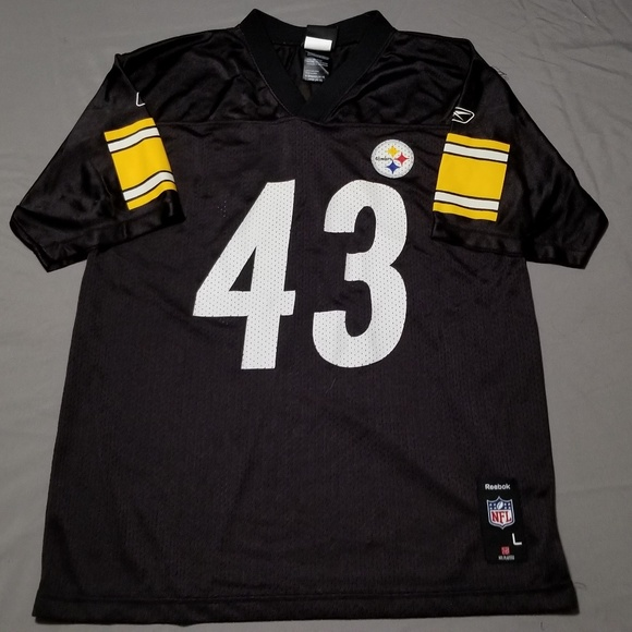 new arrival d7e64 dca84 Youth Steelers Classic Troy Polamalu Jersey